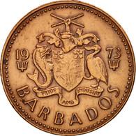 Barbados, Cent, 1973, Franklin Mint, TTB+, Bronze, KM:10 - Barbades