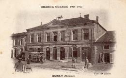 55 MEUSE - AMBLY Mairie Pendant La Guerre De 14 - Francia