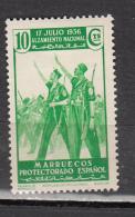 MAROC ESPAGNOL * 1937 MI N° 156 - Spanish Morocco