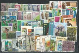 Jamaïque : Collection De 80 Timbres XX,X, O ( Dont Colonie) Tous Différents, L´ensemble TB - Jamaica (1962-...)