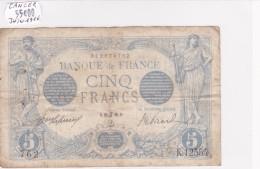 Billet De 5 Francs Bleu Du 26/06/1916 CANCER - K.12554 Alph 762 @ N° Fayette : 2.40 - 1871-1952 Anciens Francs Circulés Au XXème