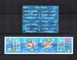 Brasil   1995  .-   Y&T  Nº  2258/2261 - 2262/2263   ** - Brasil