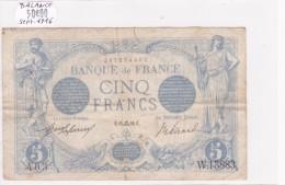 Billet De 5 Francs Bleu Du 14/09/1916 BALANCE - W.13883 Alph 403 @ N° Fayette : 2.43 - 1871-1952 Anciens Francs Circulés Au XXème