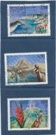 France LOT   N° 3055- 3056 - 3057    O   Valeur YT  :  3,00 € - France