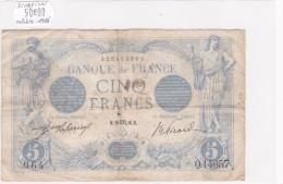 Billet De 5 Francs Bleu Du 28/10/1916 SCORPION - Q.14657 Alph 964 @ N° Fayette : 2.44 - 1871-1952 Anciens Francs Circulés Au XXème