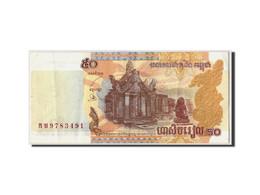 Cambodge, 50 Riels, 2002, Non Daté, KM:52a, SUP - Cambodia
