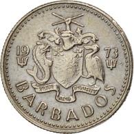 Barbados, 10 Cents, 1973, Franklin Mint, TTB+, Copper-nickel, KM:12 - Barbades