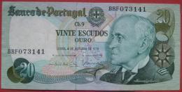 20 (Vinte) Escudos 1978 (WPM 176a) - Portugal