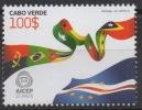 Cabo Verde 2010 - 20 Years Ans Jahre AICEP Mi. 976  1 Val. MNH - Cap Vert