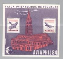 FRANCE Bloc CNEP N° 5A - Neufs ** Aviaphil - Toit De L´église Coupé - CNEP