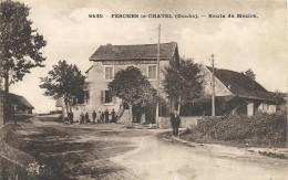 FESCHES LE CHATEL. ROUTE DE MEZIRE - Other Municipalities