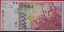 2000 (Dos Mil) Pesetas 1992 (WPM 164) - [ 4] 1975-… : Juan Carlos I