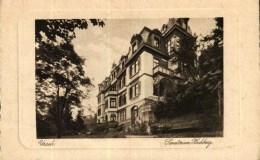 CPA  -  Allemagne  -     URACH   -  Sanatorium Hochberg - Tübingen