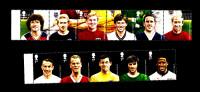 GREAT BRITAIN - 2013  FOOTBALL HEROES  SET  MINT NH - 1952-.... (Elisabetta II)