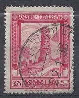 Somalia (Italian) 1932 20 Cent. (o) Perf 14 - Somalia