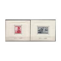ES862STV-LFT3614.España Spain.Espagne HOJITAS DE LA BATALLA DE LEPANTO 1938(Ed 862/3**)sin  Charnela MAGNIFICAS - 1931-50 Nuevos & Fijasellos