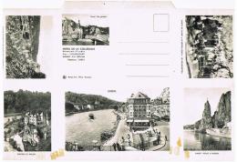 """Dinant - Carte-lettre Publicitaire """"Hôtel De La Collégiale"""" - Hotels- Horeca"""