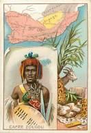 B-16 1278 :  CHROMO  CAFRE ZOULOU ZOUZOULAND - Cartes Postales