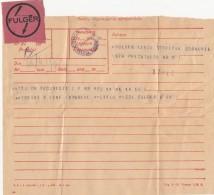 39992- TELEGRAMME SENT FROM BUCHAREST TO SIBIU, EXPRESS, 1957, ROMANIA - Télégraphes