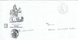 L-CHAT15 - FRANCElettre En Franchise Postale De La Mairie De Katzenthal (vallée Des Chats) - Domestic Cats