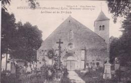 16-81 Montseaugeon Eglise Le Choeur Est Du X Siecle - Autres Communes