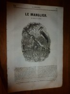 1835 LM :Le Manglier ( Mangrove) ;Philippe 1er ;Les énervés De Jumiégues (gravure) ; Cimetières Turcs;Mariage égyptien - Livres, BD, Revues