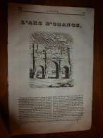 1835 LM :L'Arc D'ORANGE;Les Jumeaux Siamois; Le Chimpanzé Est L'animal Le Plus Proche De L'homme (corps + Intelligence) - Books, Magazines, Comics