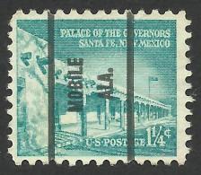 Mobile, Alabama, 1 1/4 C., Sc # 1031A - United States