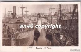 SAVONA-IL PORTO-VG 1936-2 SCAN-BUONA CONSERVAZIONE-VEDI OFFERTA SPECIALE SPEDIZIONE- - Savona