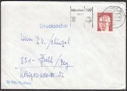 Germany Munich 1972  Olympic Games Munich / Machine Stamp - Sommer 1972: München