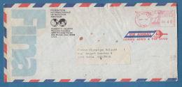 206910 / 1984 Meter Stamp 0.40 $ DES MOINES , Swimming FINA Fédération Internationale De Natation Amateur (FINA)  USA - Swimming