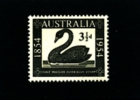 AUSTRALIA - 1954  WESTERN AUSTRALIA POSTAGE STAMP CENTENARY  MINT NH - 1952-65 Elizabeth II: IEmissione Prima Decimali
