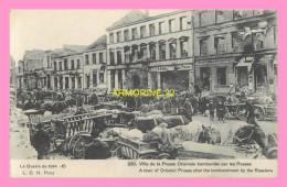 CPA VILLE LA PRUSSE  Orientale Bombardée Par Les Russes - Guerre 1914-18