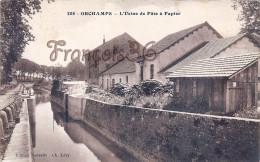 (39) Orchamps - L'Usine De Pate à Papier - 2 SCANS - Frankreich