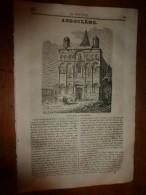1835 LM :Angoulème;L'areg De L'Inde;Philippe 1er;Origine Mythologique De La Seine;Décomposition De La Lumière;NEWTON à - Livres, BD, Revues