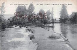 (39) Port Lesney - La Loue - L'Ecluse Et Le Canal Du Moulin - 2 SCANS - France