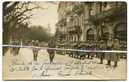 CARTE PHOTO / 20e RAC ( POITIERS ) / BAD EMS / FOURRAGERE / Gal FAYOLLE / 1919 / 20e REGIMENT D' ARTILLERIE DE CAMPAGNE - Guerre, Militaire