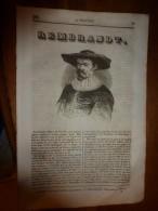 1835 LM : Paul REMBRANDT Dit Van-Ryn ;Prague (texte + Gravure);La Cochenille (texte + Gravures ;Le Simoon Du Désert ; - Books, Magazines, Comics