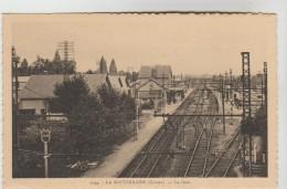 CPSM LA SOUTERRAINE (Creuse) - La Gare - La Souterraine