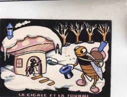 CARTES POSTALES EN FEUTRINE - France