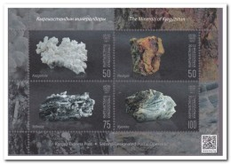 Kirgistan 2016, Postfris MNH, Minerals - Kirgizië