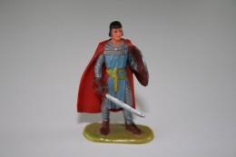 Elastolin, Lineol Hauser, H=40mm, Norman, Prince Valiant, RaRe - 1960's - Plastic - Vintage Toy Soldier - Figurines