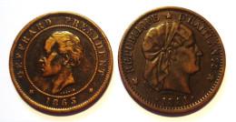 HAITI. 20 CENT. 1863, 1 CENT. 1881. - Haïti