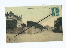 CPA  - La Chataigneraie  -  Rue Du Pavillon - La Chataigneraie