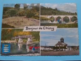 Bonjour De CHINY ( Semois ) Anno 19?8 ( Zie/voir Foto Voor Details ) !! - Chiny