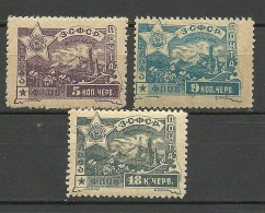 TRANSKAUKASIEN Kaukasus 1923 Michel 31 - 33 MNH
