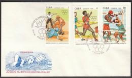 Cuba Habana 1990 / Olympic Games Barcelona 1992 / Baseball, Athletics, Boxing - Sommer 1992: Barcelone