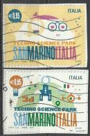 Italia 2015, Techno Science Park S. Marino Italia (o), Serie Completa - 6. 1946-.. Repubblica