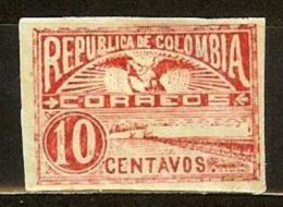 COLOMBIA 1902.05.02 [173f-2] Vistas De Cartagena Y Barranquilla. 9a. Emision. Guerra De Los Mil Días - Colombia