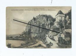 CPA - La Roque Gageac  -  Château De La Malartrie Et Rochers De Marqueyssac - France